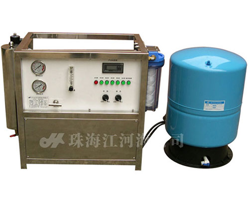 Fully automatic small brackish water desalination plant